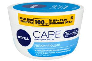 Крем для лица увлажняющий Care Nivea 100мл