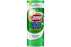 Comet 2X Bleach Scratch Free Cleaner