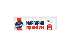 Маргарин 72% столовий Преміум Панна м/у 500г