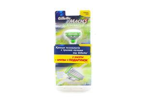 Набір Gillette станок для гоління+картриджі