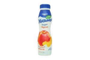Йогурт 1.5% Персик Живинка п/бут 270г
