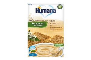 Безмолочная каша гречневая сухая для детей от 6 месяцев Humana к/у 200г