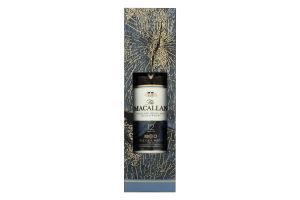 Набір віскі 0.7л 40% The Maсallan Fine Oak 12років + 2 склянки к/у
