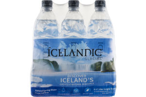 Icelandic Glacial Natural Spring Water From Iceland - 6 PK