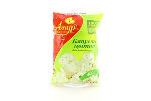 Овощи резаные быстрозамороженные Капуста цветная Ажур м/у 400г
