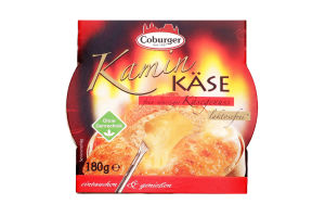 Сыр Coburger Kaminkase пряный д/запекан60% кор/мол