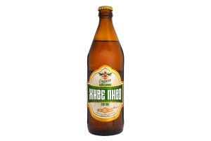 Пиво 0.5л 3.7% світле Опілля Класичне пл