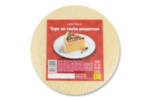 Коржі вафельні для торта Lekorna м/у 65г