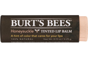 Burt's Bees Tinted Lip Balm Honeysuckle