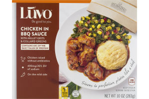 Luvo Chicken in BBQ Sauce