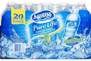 Nestle Pure Life Purified Water- 20 PK