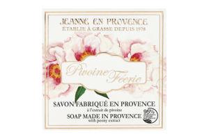 Туалетное мыло Pivoine Feerie Jeanne en Provence 100г