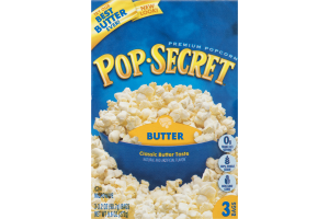 Pop-Secret Premium Popcorn Butter - 3 CT