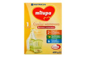Смесь молочная сухая для детей от 0 до 6мес 1 Milupa к/у 600г