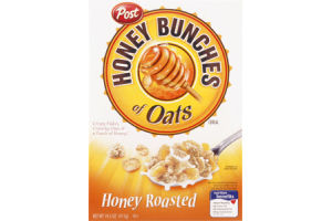 Post Honey Bunches of Oats Honey Roasted Cereal