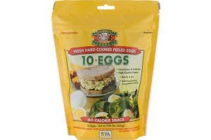 Sauder's Eggs Fresh Hard-Cooked Peeled Eggs - 10 CT