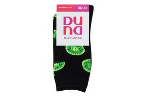 Шкарпетки жіночі Duna №3137 21-23 чорний