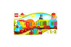 LEGO® DUPLO® Поезд Считай и играй 10847