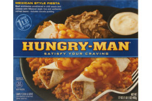 Hungry-Man Mexican Style Fiesta