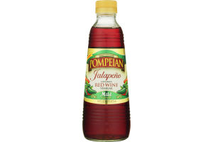 Pompeian Infused Red Wine Vinegar Jalapeno