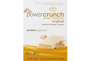 Power Crunch Protein Energy Bar Original Peanut Butter Creme - 5 CT