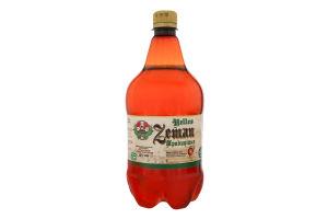 Пиво 1л 4% світле фільтроване непастеризоване Традиційне Zeman п/пл