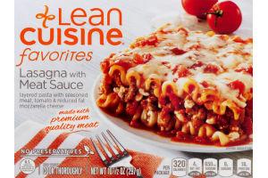 Lean Cuisine Favorites Lasagna with Meat Sauce