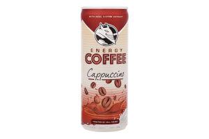 Кофе холодный с молоком Cappuccino Hell Energy Drink ж/б 250мл