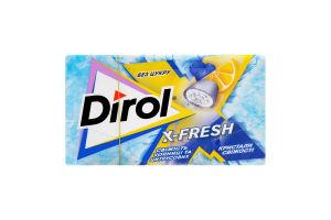 Жув.гумка Dirol X-Fresh Свіжість чорниць та цитрусових 18г