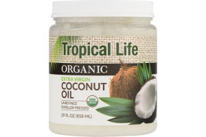 Tropical Life Organic Coconut Oil