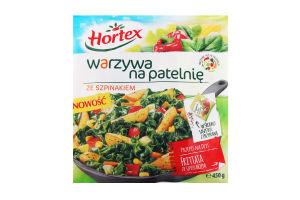 Hortex Смесь овощей для жарки с шпинатом 450гр