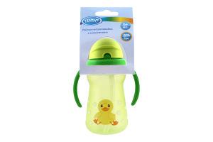 Поилка-непроливайка с соломинкой для детей от 6мес 180мл №LI733 Lindo 1шт