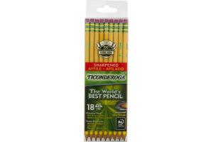 Ticonderoga #2 Pencils - 18 CT