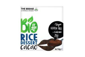 Десерт рисовый The Bridge с какао органический