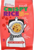 Кульки рисові хрумкі Рожева гімалайська сіль Doctor Benner м/у 50г