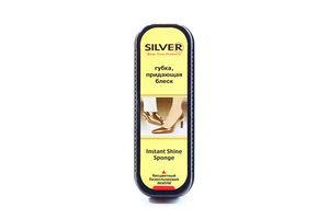 Губка-блеск для обуви бесцветная Silver