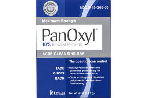 PanOxyl Acne Cleansing Bar Maximum Strength