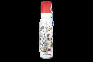 Бутылочка стеклянная с рисунком 240мл №42/201 Canpol 1шт