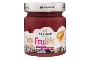 Крем-мед с черной смородиной FruBee Beehive с/б 250г