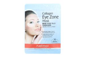 Набір масок під очі з колагеном Collagen Eye Zone Mask Purederm 30шт