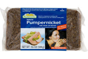 Mestemacher Natural Pumpernickel