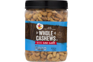 Ahold Whole Cashews with Sea Salt