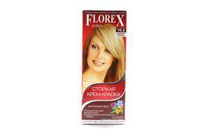 Крем-краска для волос Бежевый жемчуг №10.3 Florex Super
