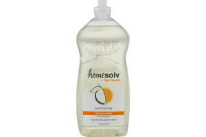 Homesolv by Citra Solv Natural Dish Soap Valencia Orange