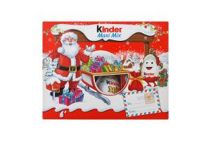 Набір кондитерських виробів Maxi Mix Kinder к/у 219.5г