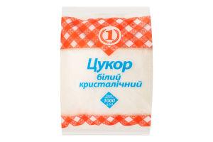Сахар белый кристаллический №1 м/у 1000г