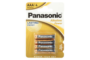 Батарейка Alkaline Power AAA Panasonic
