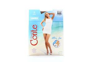 Колготы женские Conte Summer multifibra 8den 4-L bronz