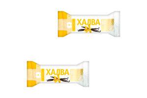 Халва Золотой Век подсолнечная ванильная конфетка