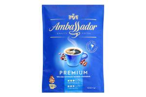 Кава натуральна розчинна сублімована Premium Ambassador д/п 100г